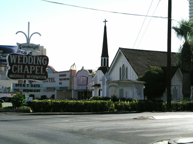 Las Vegas Wedding Chapel, Trauungskapelle