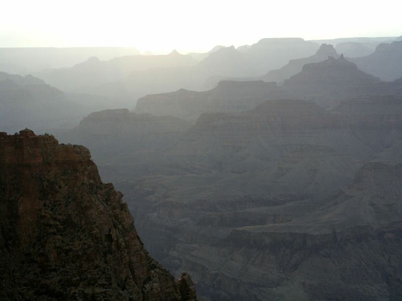 Sonnenuntergang im Grand Canyon